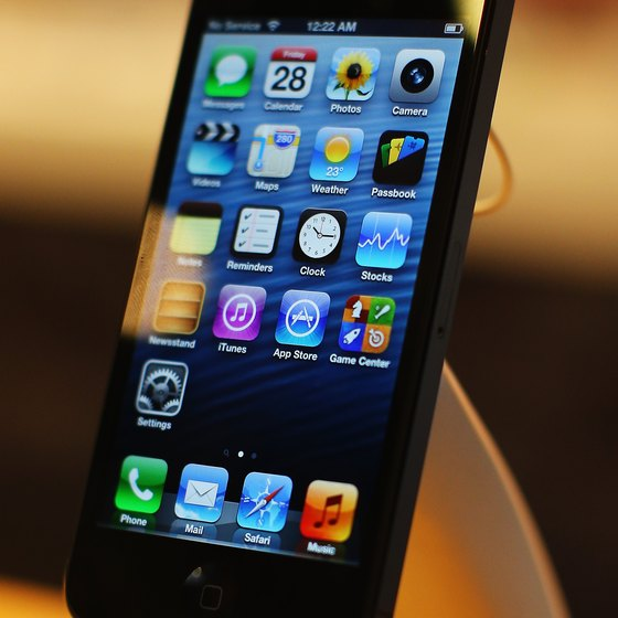 Turn off 4G on the iPhone 5 to avoid excess charges.