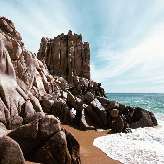 Rip tides at the beach present one danger for visitors to Cabo San Lucas.