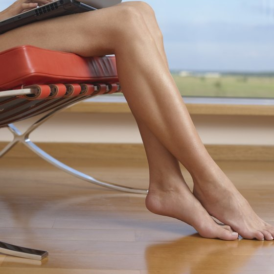 Get toned calves with regular exercise.