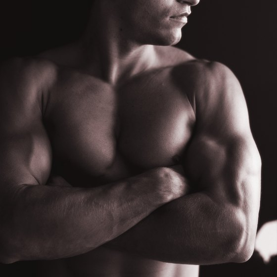 Men can get toned using a combination of cardio and resistance training.