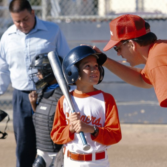 Youth leagues regularly use aluminum bats.