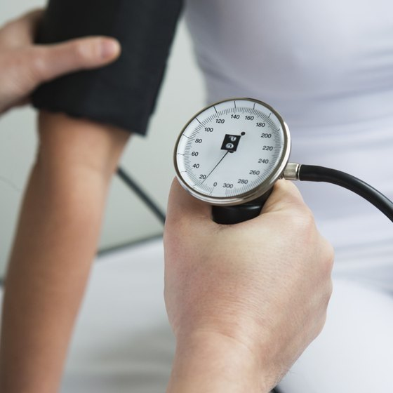 Blood pressure is one indicator of physical wellness.