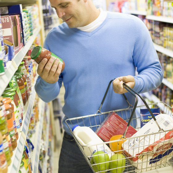 Food products face fierce competition for space on supermarket shelves.