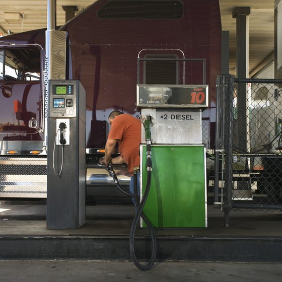 Transportation companies pass on escalating diesel expenses through fuel surcharges.