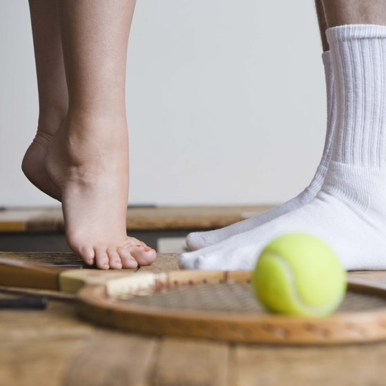 Walking and exercising in bare feet may strengthen arches.