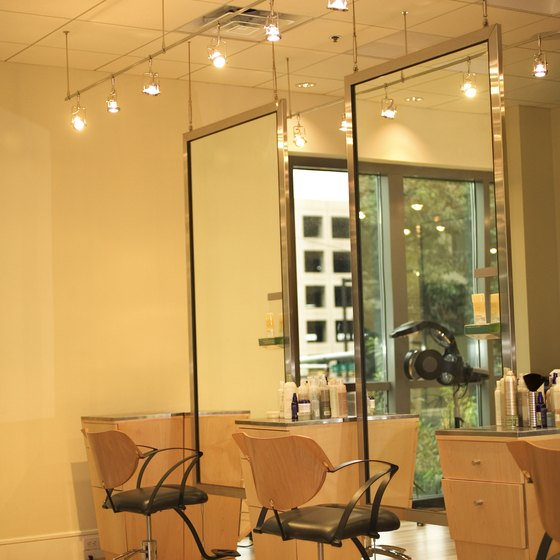 The decor of a salon can help to attract and maintain customers.