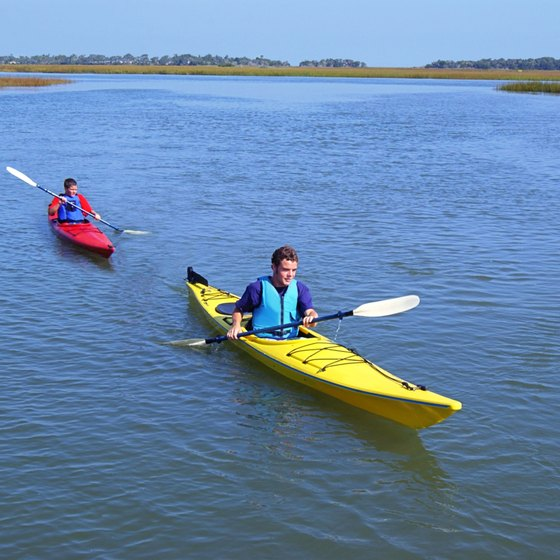 Even recreational kayaking offers outstanding physical benefits.