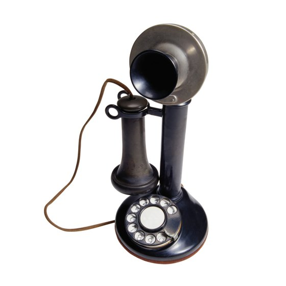 You can re-purpose old rotary phones for VoIP internet phone use.