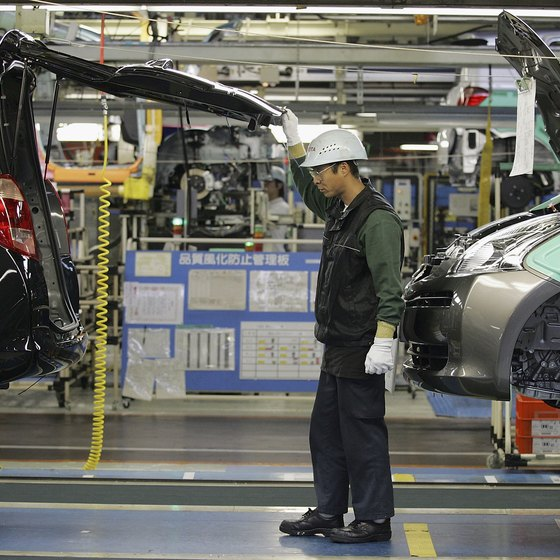 Toyota uses kaizen methods, including the 4M checklist, for efficiency.