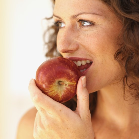 Apples contain phytoestrogen