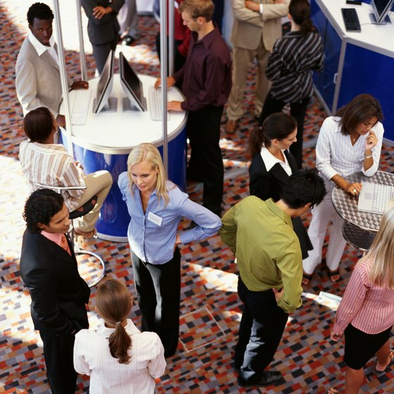 A well-designed booth space attracts the right clients.