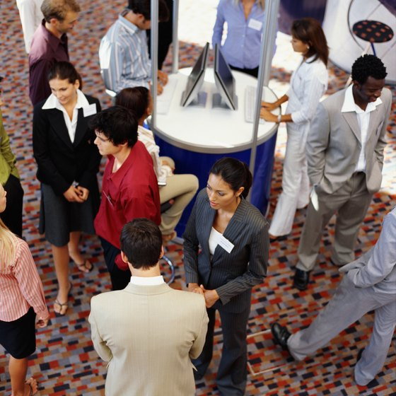 Catch the eye of trade show attendees.