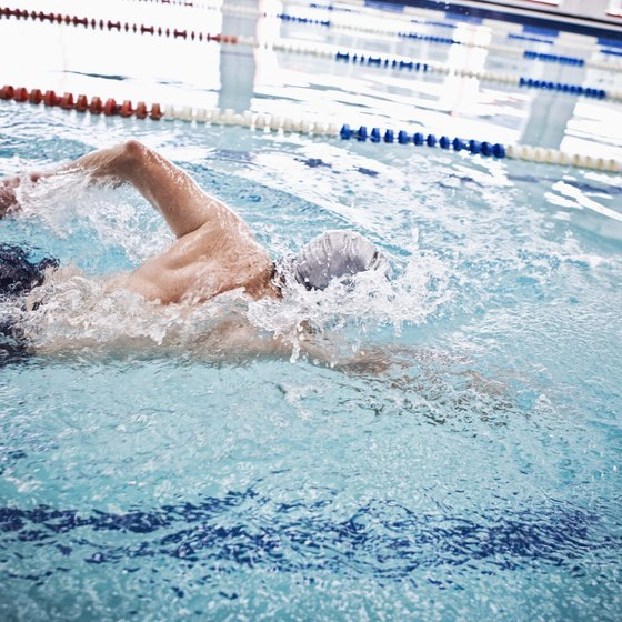 Swimming workouts are gentle and effective.