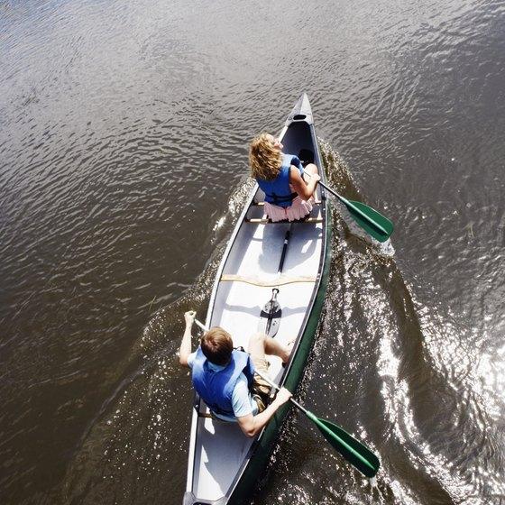 Raven Rock offers canoe-in campsites.