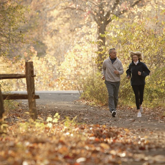 Jogging can help you burn the calories needed to reduce body fat.