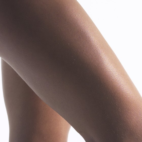 Trim thighs create a healthy body shape.