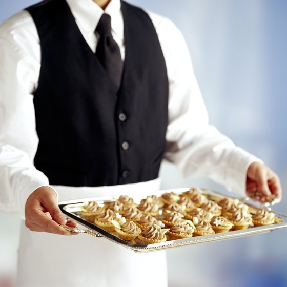 It is easy for restaurants to cater because they are already set up to prepare and serve food.