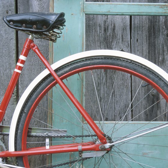 Lugs are typically found on older bicyles.