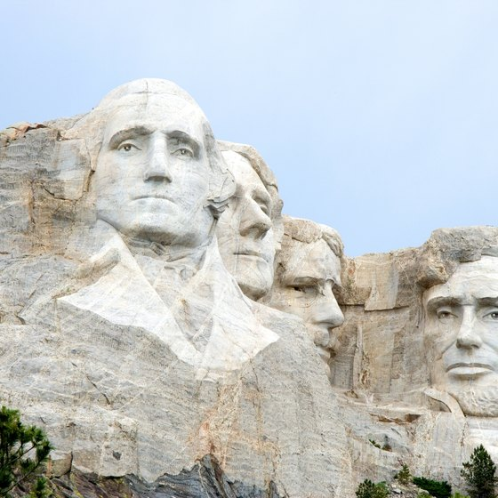 Mount Rushmore is South Dakota's most recognizable landmark.