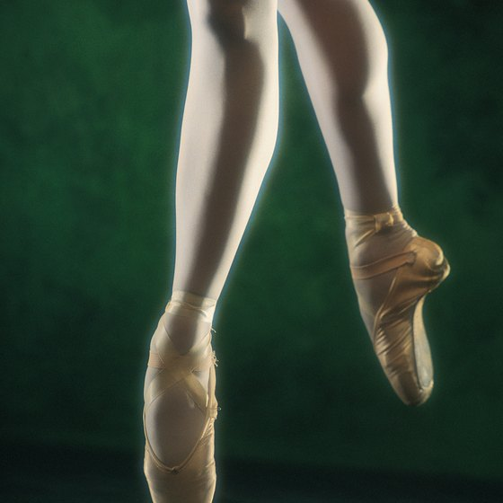 Dancers tend to obsess about the look of their feet.