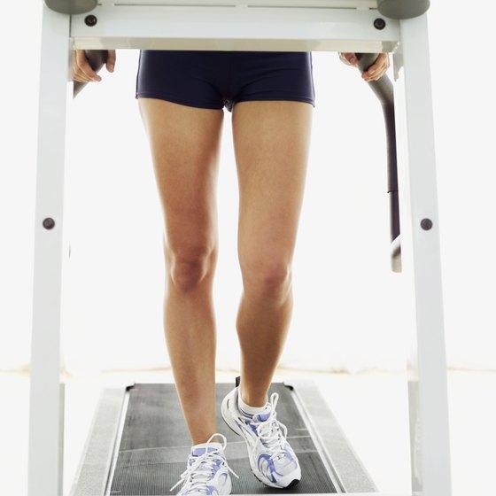 Cardio can help slim big thighs.