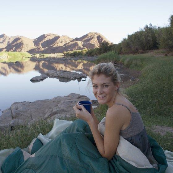 The Parker Strip offers riverside campsites.