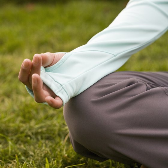 Yoga calms your mind and eases stress.