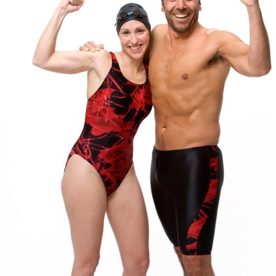 Cross-training and muscle-bearing activity can help you get a swimmer's body.
