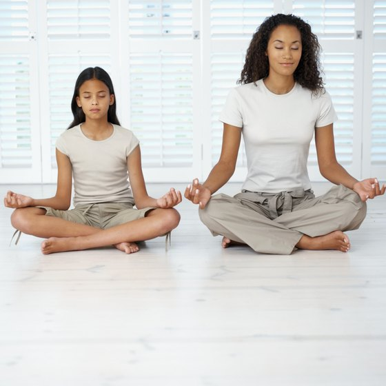 Certain yoga poses may be beneficial to growing girls.