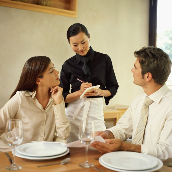 Effective upselling begins with knowledgeable waitstaff.