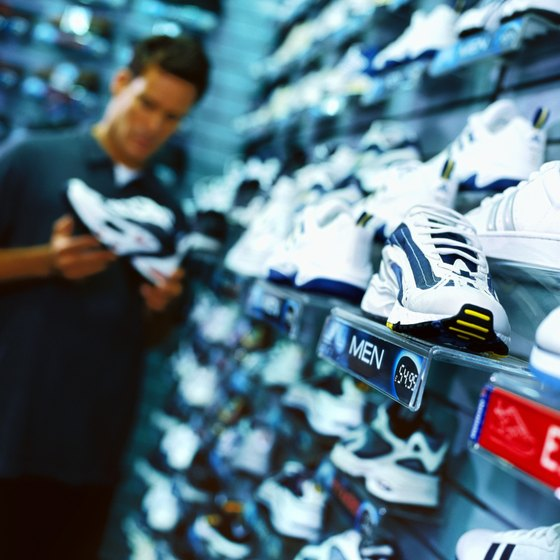 Inventory databases help stores track and control their wares.