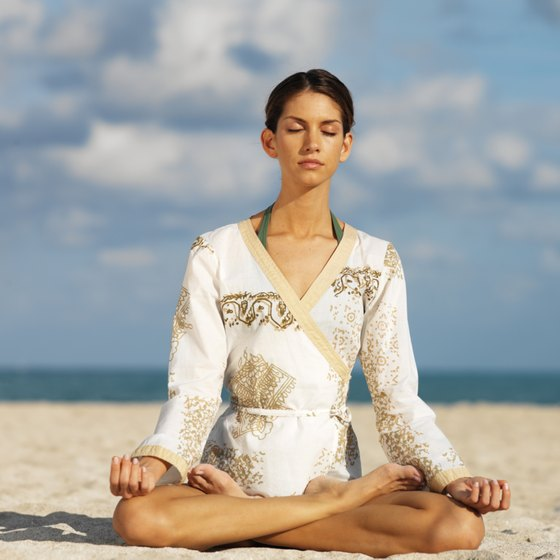 Yogic breathing can ease feelings of anxiety.