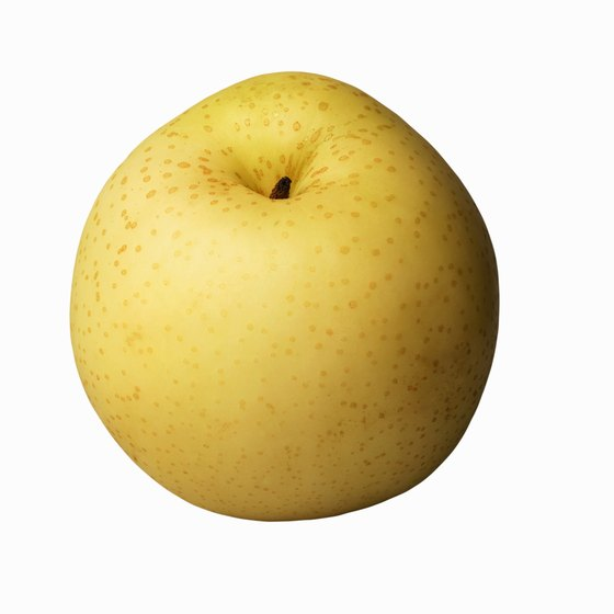 Asian pears are an excellent source of both types of fiber.