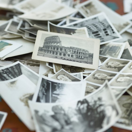 Scan photographs and other two-dimensional items for your archives.