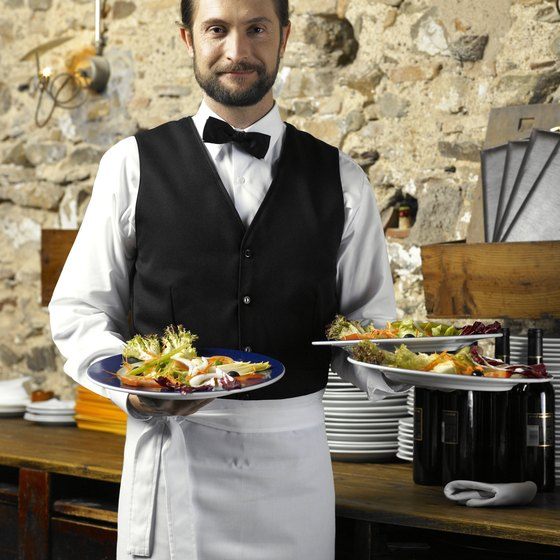 Attentive waiters earn higher amounts of taxable tips.