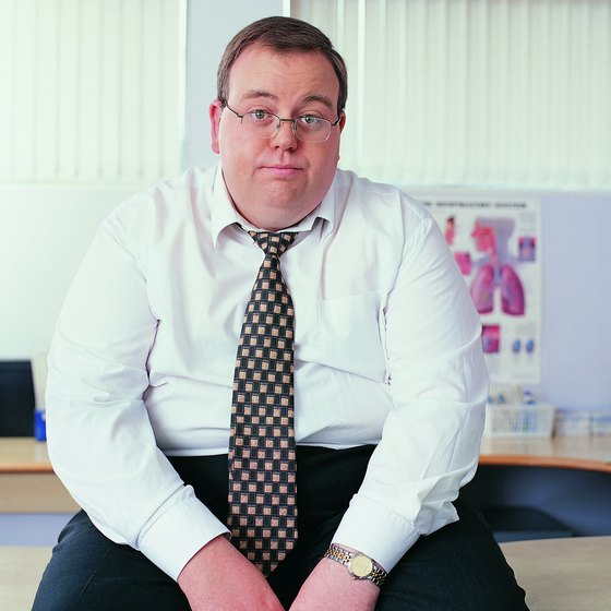 A desk job might cause health problems.