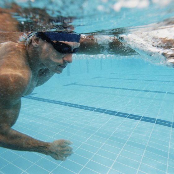 Swimming is a low-impact workout that is ideal for overweight men.