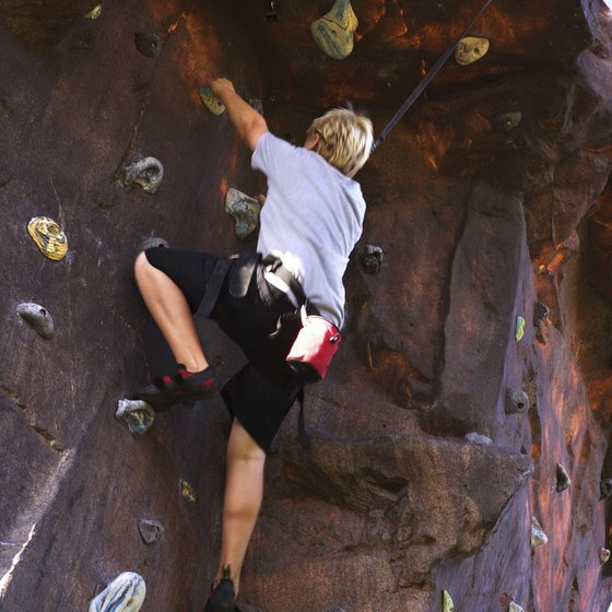 Rock climbers from beginners to advanced have a choice of facilities near Mooresville, NC.
