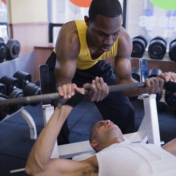 Weight lifting can be a healthy way to bulk up.