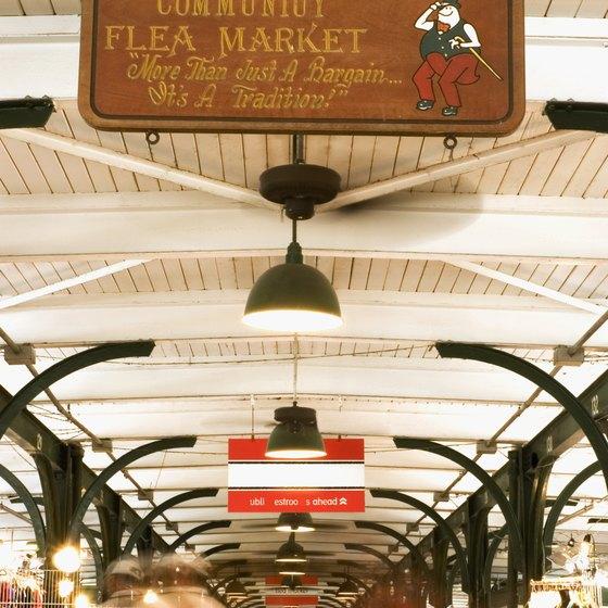 Turn your castoffs into cash at flea markets.