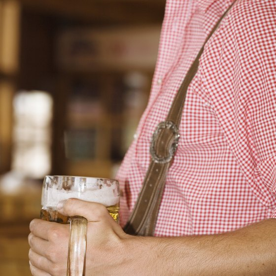 Beer consumption can contribute to extra abdominal fat.