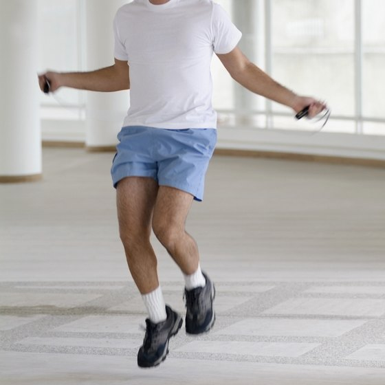 Jumping rope is a low-maintenance, healthy type of exercise.