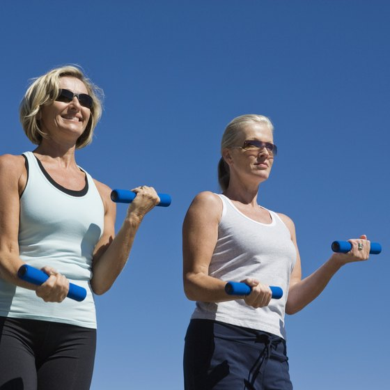 If you are just starting to exercise in your middle fifties, choose low-impact activities.
