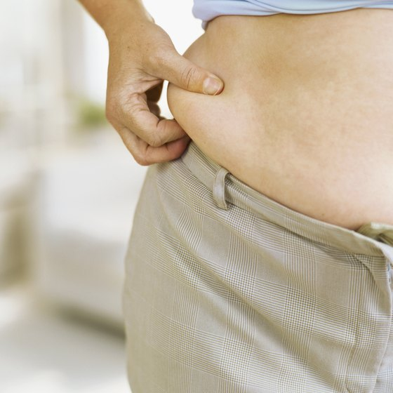 Adjust your lifestyle to get rid of tummy flab.