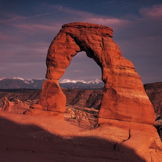 Delicate Arch in Arches National Park: A symbol of Utah's natural splendor.