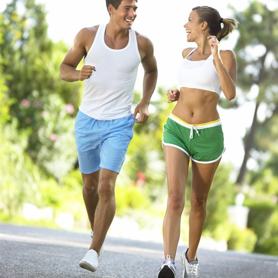 Jogging is an ideal way to gain strength and stamina.