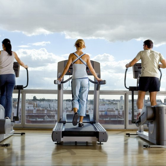 With competition in the marketplace for gyms, you have to modernize equipment to maintain members.