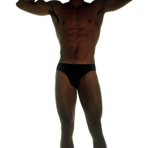 The Adonis Effect is achieved with the proper hip, waist and chest proportions.