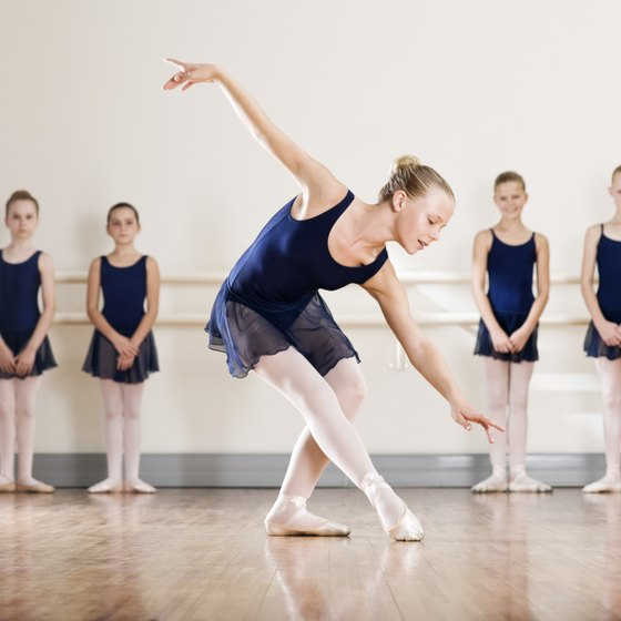 Dance studios generate revenue from a number of sources.