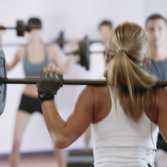 Women can build muscle mass with proper weight training.